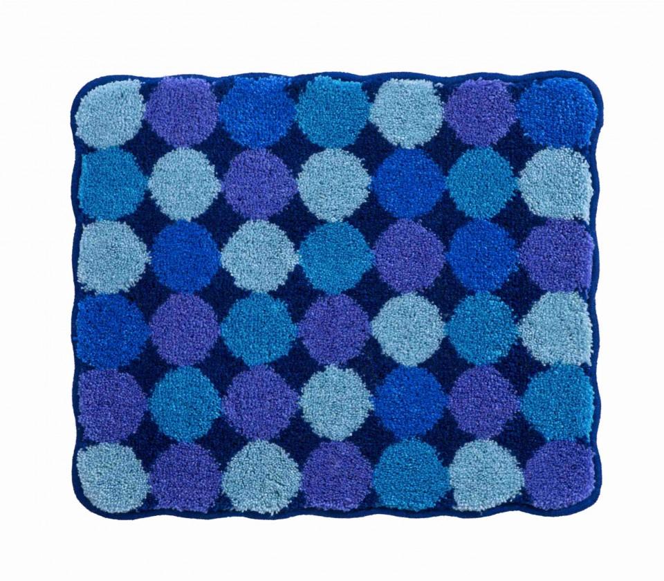 Agarthi - Kúpeľňová predložka malá 50x60 cm (modrá)