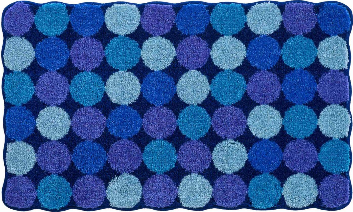 Agarthi - Malá predložka 50x60 cm (modro-tyrkysová)