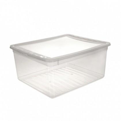 AIR CONTROL-Box úložný s viekom, 18l (transparentná)