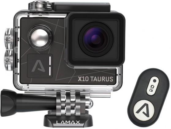 ... Videokamery Akčná kamera Lamax X10 Taurus 834c54b9fec