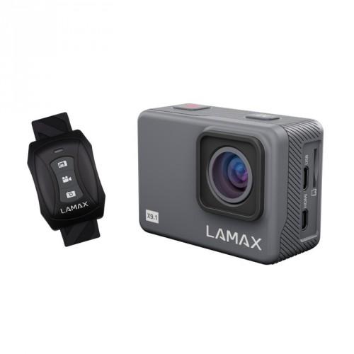 """Akčná kamera Lamax X9.1 2"""", 4K, WiFi, 170° + prísl."""