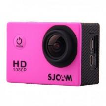 Akčná kamera SJCAM SJ4000 + kopa príslušenstva, ružová