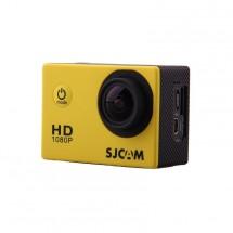 Akčná kamera SJCAM SJ4000 + kopa príslušenstva, žltá