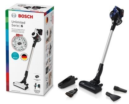 Akumulátorové vysávače Tyčový vysávač Bosch Unlimited S6 BBS611MAT, 2v1