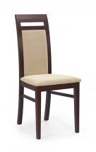 Albert - jedálenská stolička (torent béžová, orech tmavý)