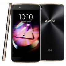 Alcatel OT-6055K IDOL 4+, čierna, zlatá