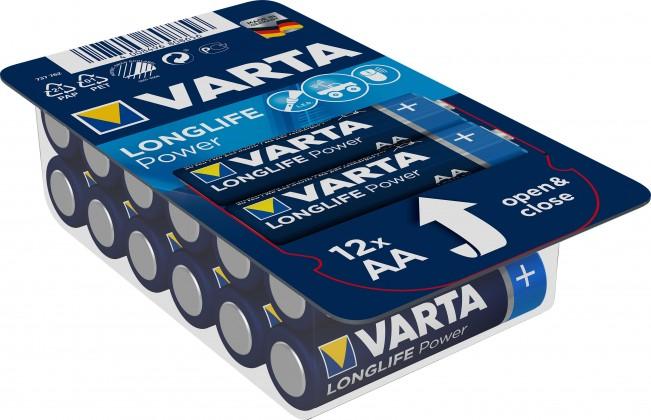 Alkalické batérie Alkalické batérie Longlife Power AA 12ks