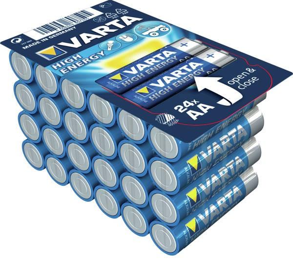 Alkalické batérie Alkalické batérie Longlife Power AA 24ks