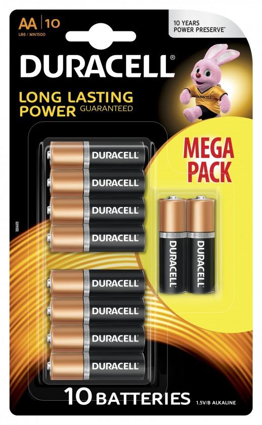 Alkalické batérie Batéria Duracell basic AA