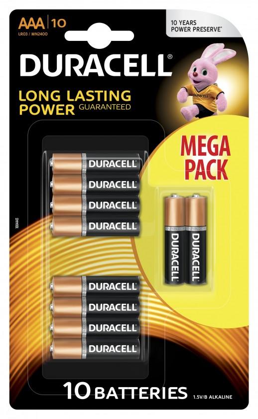 Alkalické batérie Batéria Duracell basic AAA