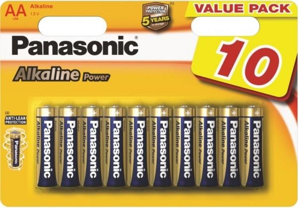 Alkalické batérie Batéria Panasonic Alkaline Power AA 10ks
