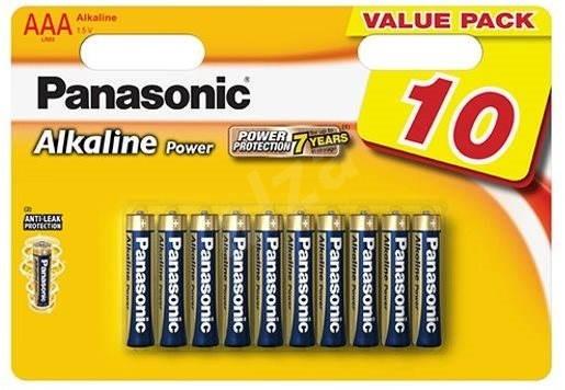 Alkalické batérie Batéria Panasonic Alkaline POWER AAA 10ks