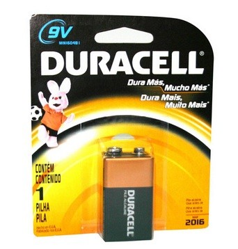 Alkalické batérie Baterie Duracell Basic 6LR61 9V (10PP100010)