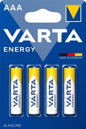 Alkalické batérie Batérie Varta Energy, AAA, 4ks