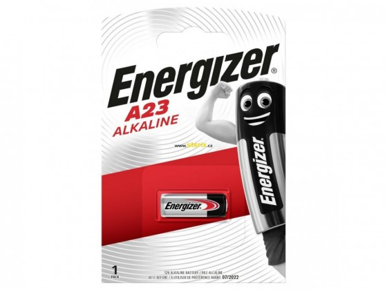 Alkalické batérie  Energizer E23A 608305