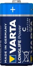 Alkalické batérie VARTA LONGLIFE Power C, 4ks
