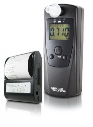 Alkohol testery,transmitre, kabeláž Alkohol tester AlcoForce Cobra-KIT