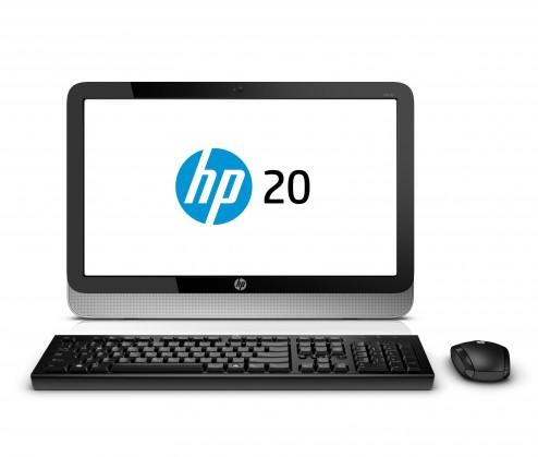 """All-in-One HP-AIO 20-2000ec 20""""/E1-2500/4GB/500GB/Radeon 8240/W8"""