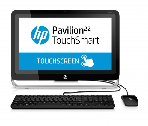 "All-in-One HP-AIO Pavilion 22-h000ec 21,5"" touch/A4-5000/4GB/500GB/ATI/W8"