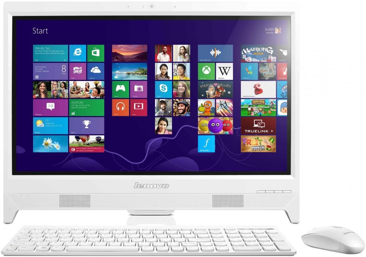 All-in-One Lenovo Desktop AiO C260 White 57-330154