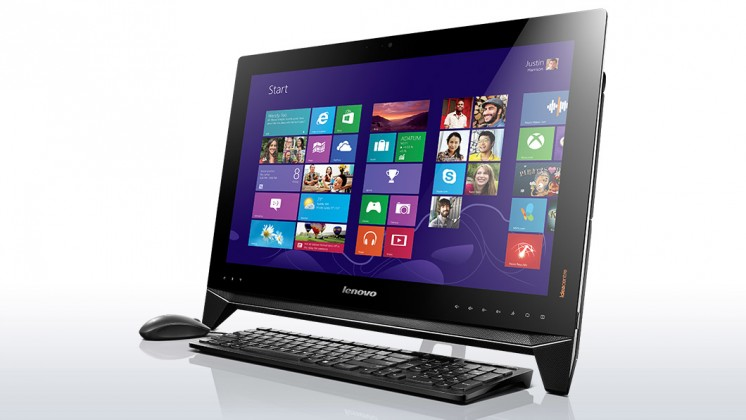 All-in-One  Lenovo IdeaCenter AIO B550 23''T 3D/i5-4440/8+1T/8G/BR/AMD/W8