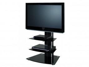Alladyn 2 - TV stolík s držiakom (čierna)