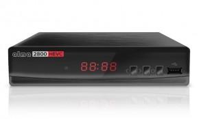 ALMA DVB-T2 HD prijímač 2800 s kodekom HEVC NEKOMPLETNÉ PRÍSLUŠ.