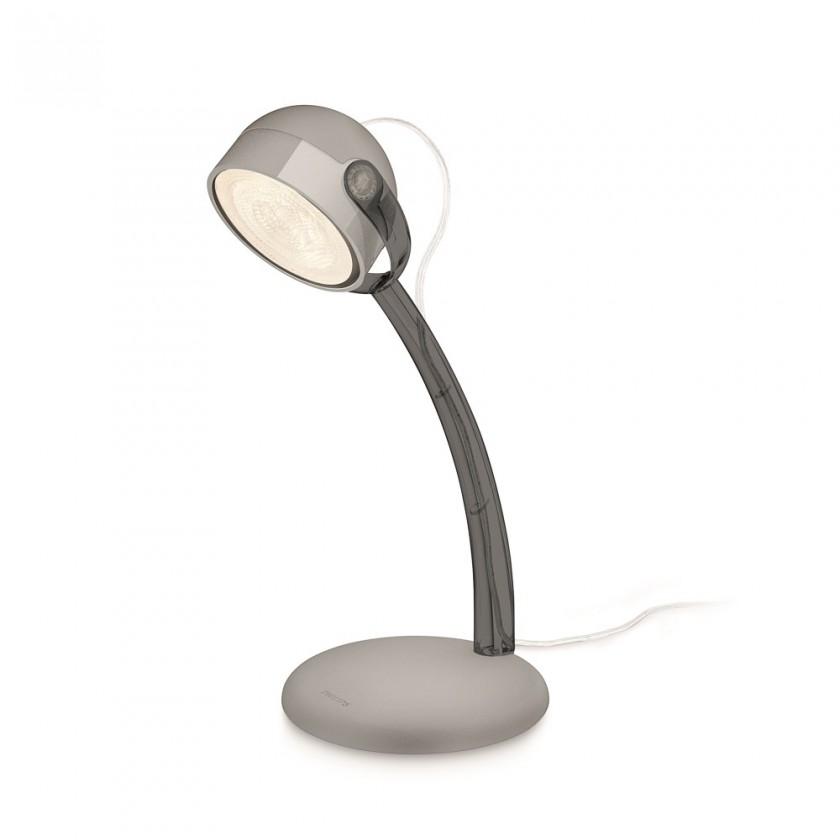 Aloha - Lampička LED, 13cm (šedá)