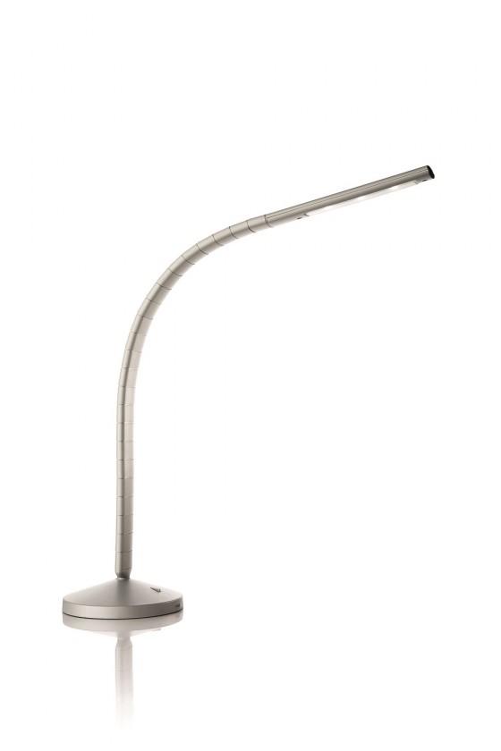 Aloha - Lampička LED, 16,5cm (šedá)