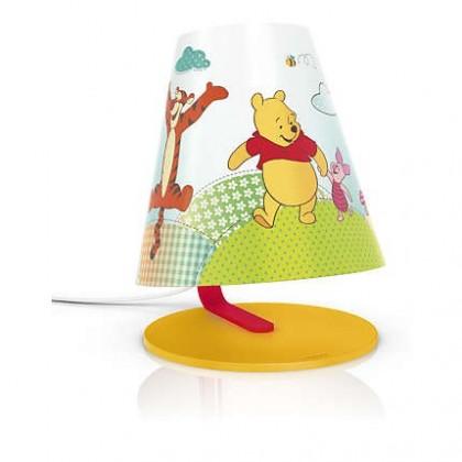 Aloha - Lampička LED, 18,7cm (žlutá)