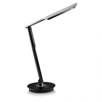 Aloha - Lampička LED, 49cm (čierna)