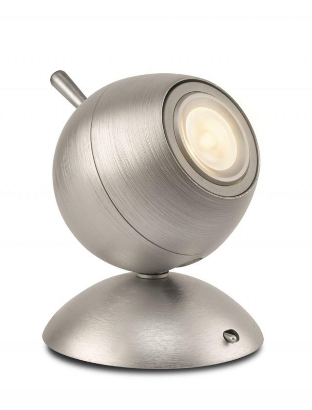 Aloha - Lampička LED, 9,4cm (hliník)