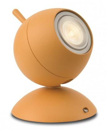 Aloha - Lampička LED, 9,4cm (oranžová)