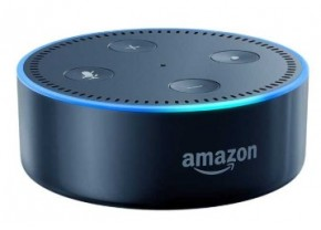 Amazon Echo Dot, hlasový asistent 2. generácie, čierny