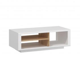 Amber - Konf.stolík (biela/dub jantárový)