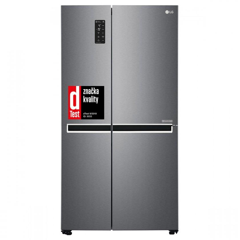 Americká chladnička Americká chladnička LG GSB470BASZ, 10 rokov záruka na kompresor