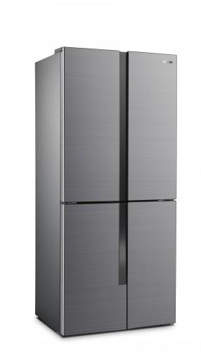Americká chladnička Gorenje NRM8182MX,A++,4xdvere + dárek TV Hisense 32A5100F