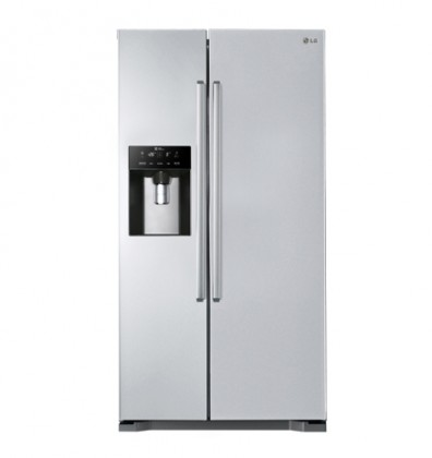 Americká chladnička LG GSL325PZCVD VADA VZHĽADU, ODRENINY