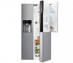 Americká chladnička s technológiou Door in Door LG GSJ361DIDV