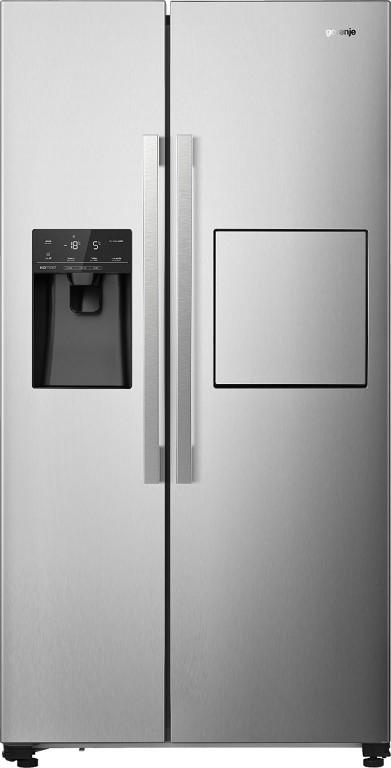 Americké chladničky s výrobníkom ľadu Americká chladnička Gorenje NRS9182VXB1, A++