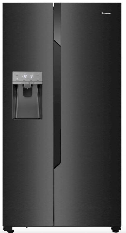 Americké chladničky s výrobníkom ľadu Americká chladnička Hisense RS694N4TF2