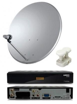 AMIKO SSD550 SET bez karty