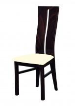 Andre I - jedálenská stolička (drevo - wenge/poťah - látka)