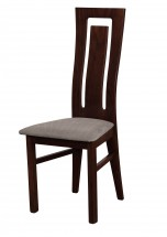 Andre II - jedálenská stolička (drevo - wenge/poťah - látka)