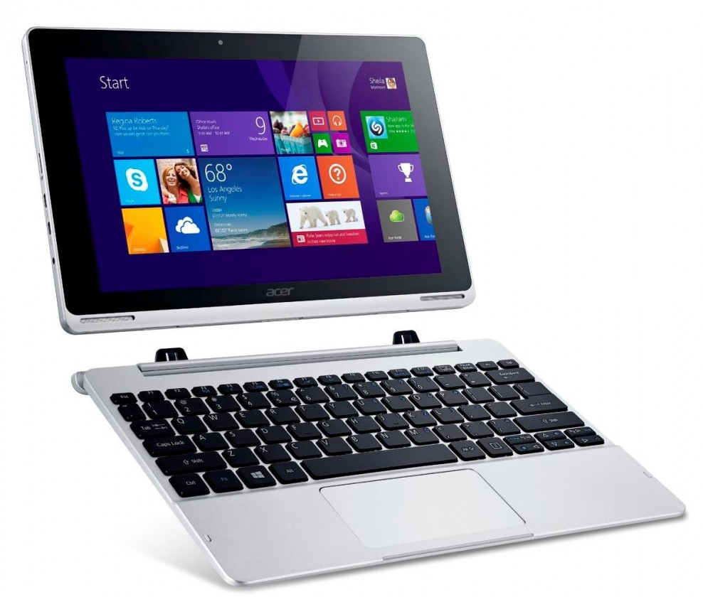 Android Acer Aspire Switch 10 (NT.L4TEC.003) strieborný