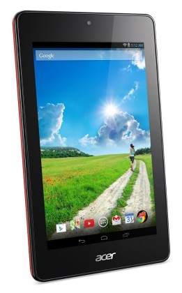 Android Acer Iconia One 7 16GB červený (NT.L4VEE.002)