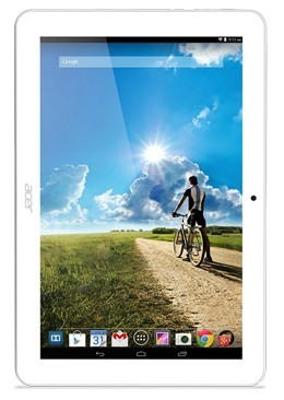 Android Acer Iconia Tab 10 16GB Aluminium White (NT.L5DEE.002)