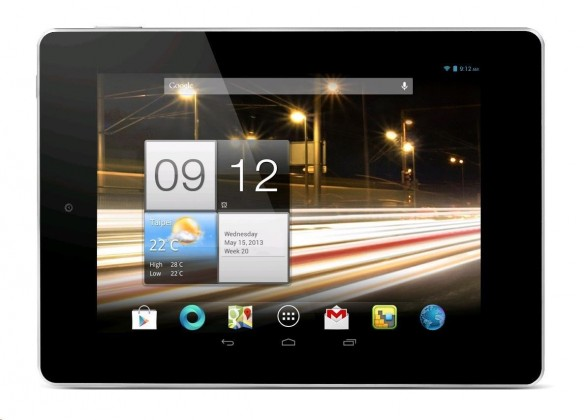 Android Acer Iconia Tab A1-811 (NT.L2TEE.001) strieborný
