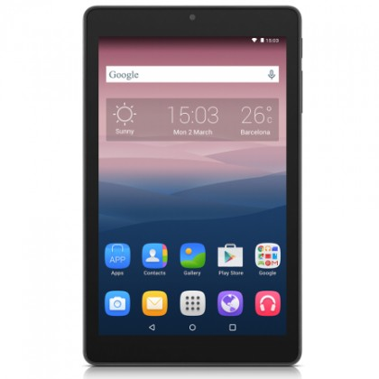 Android Alcatel OneTouch PIXI 8 WIFI, čierna
