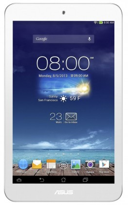 Android ASUS MeMO Pad HD 8 (ME180A-1A007A) biely